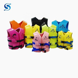 Customized PFD Life Jackets Safety Vests for Water Parks,Water Sports,Resort Pools