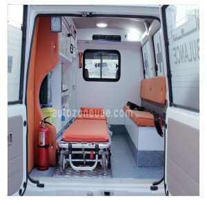 Emergency 4x4 Ambulance for Export
