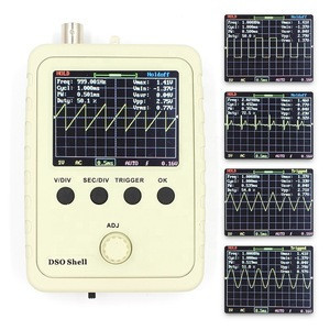 Fully Assembled Orignal Tech DS0150 15001K  DIY Digital Oscilloscope Kit With Housing case box DSO150
