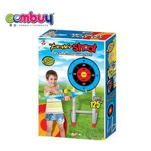 Good quality kids sport toys plastic small bow arrow target shooting