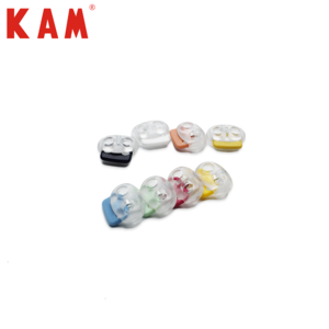 High quality clear plastic cord stopper
