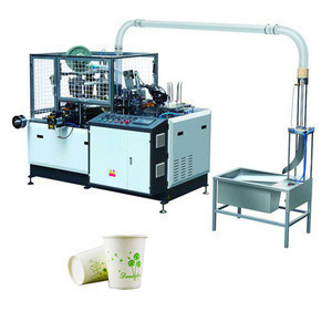 High quality high speed paper tea cup with handle making machine price in India