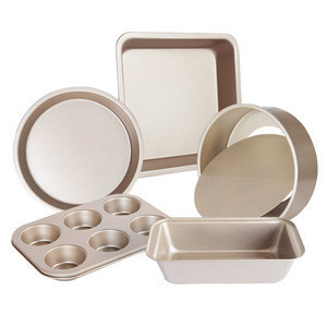 High Quality Kitchen Bake Pan Wholesale Custom 6-Piece Carbon Steel Bakeware Set