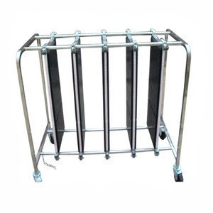 Industrial low-cost adjustable anti-static SMT turnover cart / anti-static car electronic cart anti-static PCB cycle