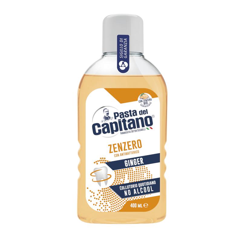 Italian Ginger mouthwash alcohol free 400 ml