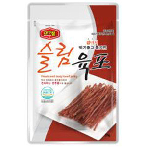 Korean DRY/ PROCESSED MEAT & JERKY & SNACK. Obtained SQF (safe and high-quality food) and FDA certification. Made in Korea.