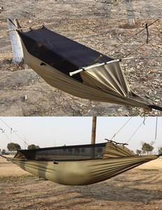 Large Survival Parachute Hammock with Mosquito Net