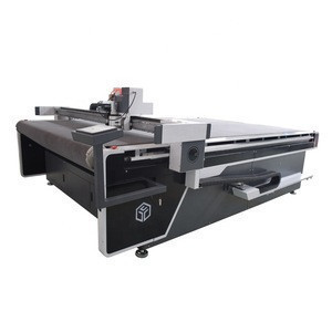 Leather CNC cutting equipment for belt bag shoes making machine