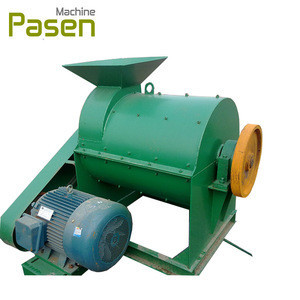Manure Crusher Machine / Machine For Make Organic Fertizer / Biology Fertilizer Production Line