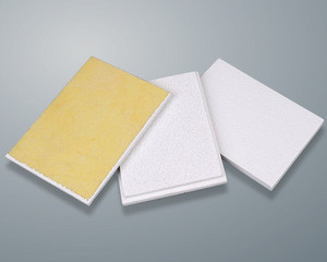 Mineral wool special ceiling board