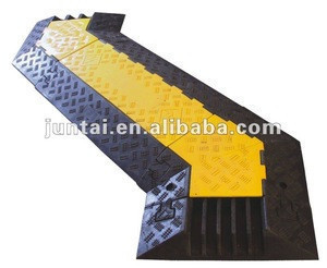 Plastic or Rubber Cable Speed Humps