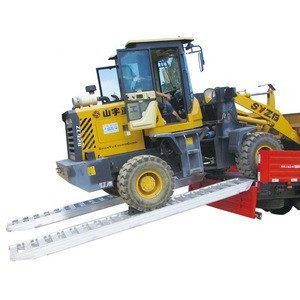 Portable heavy duty ramps for lorry