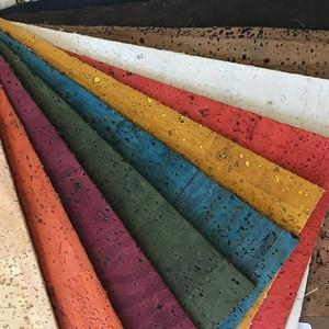 Portugal hot special design bread veins natural cork fabric