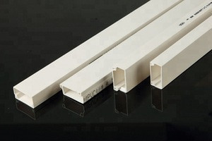 Promotion price square PVC pipe PVC trunking PVC duct