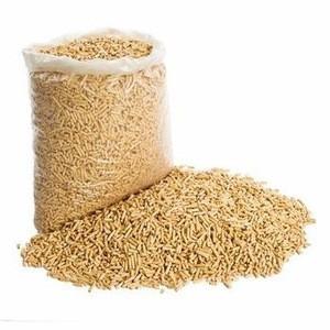 Romania pine wood pellets 6mm in 15kg bags
