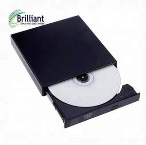 Slim portable dvd external dvd rw drive GT20F optical drive Labelflash