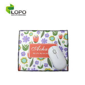Sublimation Blank Textile Mouse Pad and Cloth to Sublimate Customize for Tablets and Glasses
