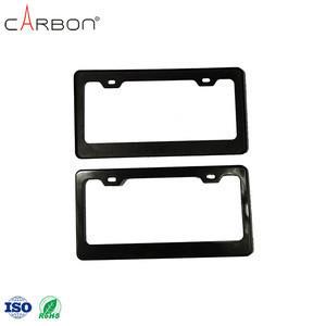Wholesale Auto Carbon Fiber License Plate Frame Custom License Plate Frames
