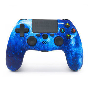 Wholesale  Blue Color  Wireless controller accessories  joystick gamepad For PS4