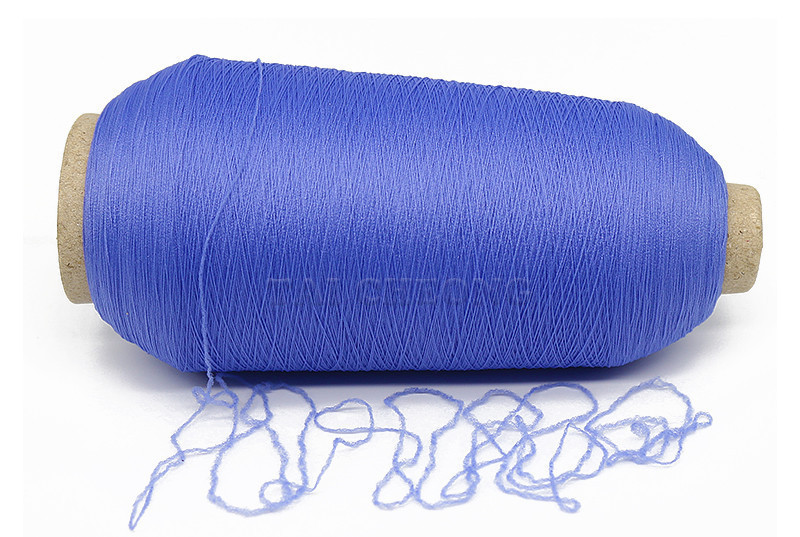 Wholesale hank dyed nylon stretch colored yarn for webbing