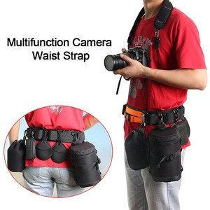 Wholesale Quick Shooting Custom Multifunction Camera Waist Strap Belt