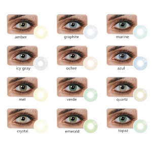 Wholesale yearly disposable solotica natural color contact lenses