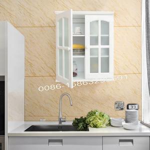 Wooden Storage Cabinet MFCGlass Kitchen for Kitchen Furniture
