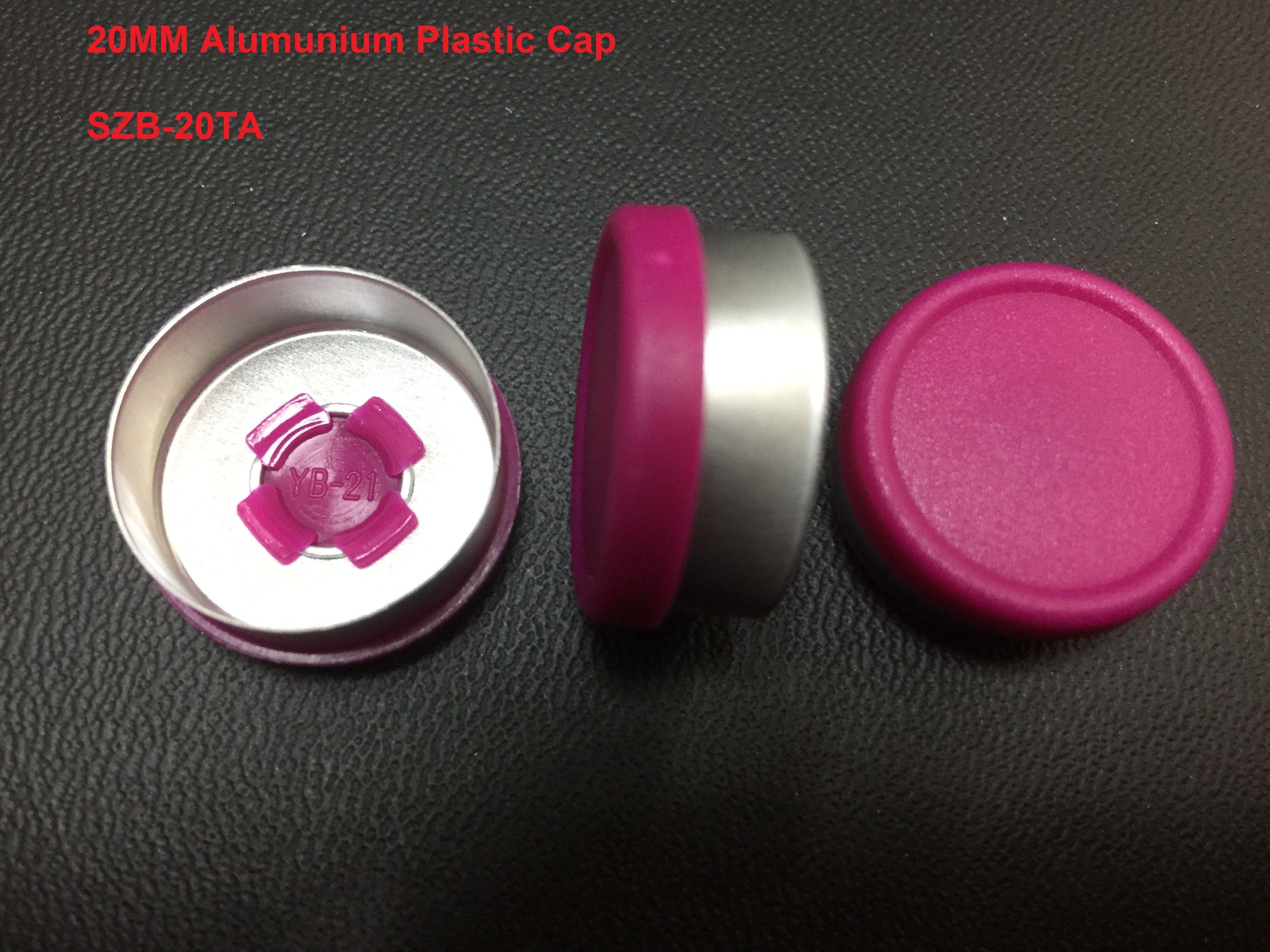 Aluminium caps and flip off caps
