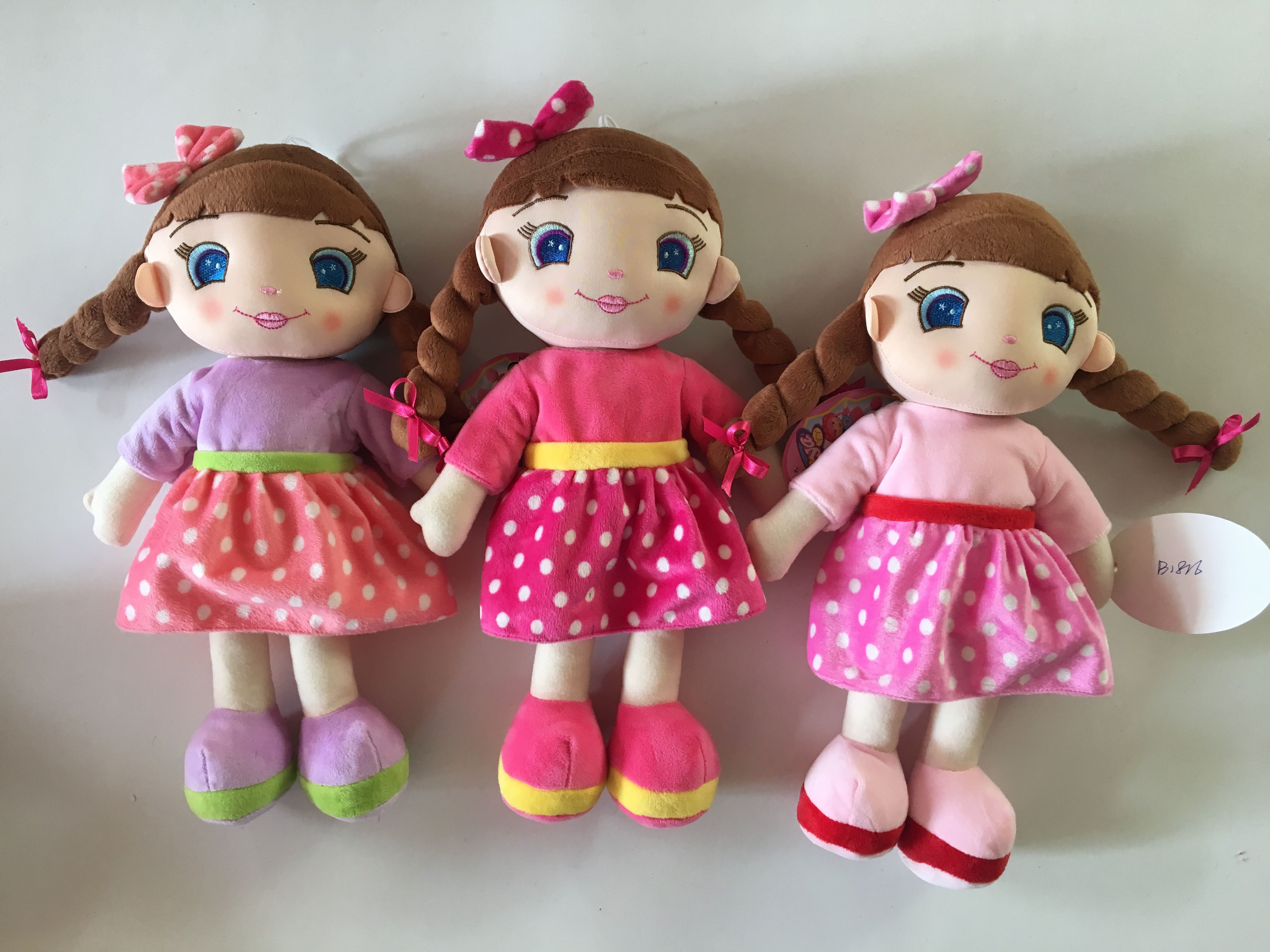 China SMETA Audited custom made rag dolls | cloth dolls | Fabric doll manufacturer