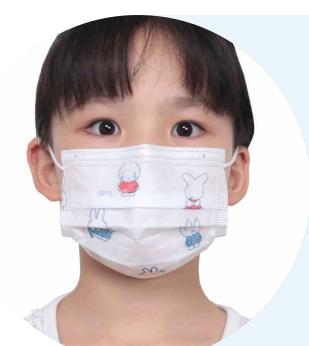 children  disposable face mask