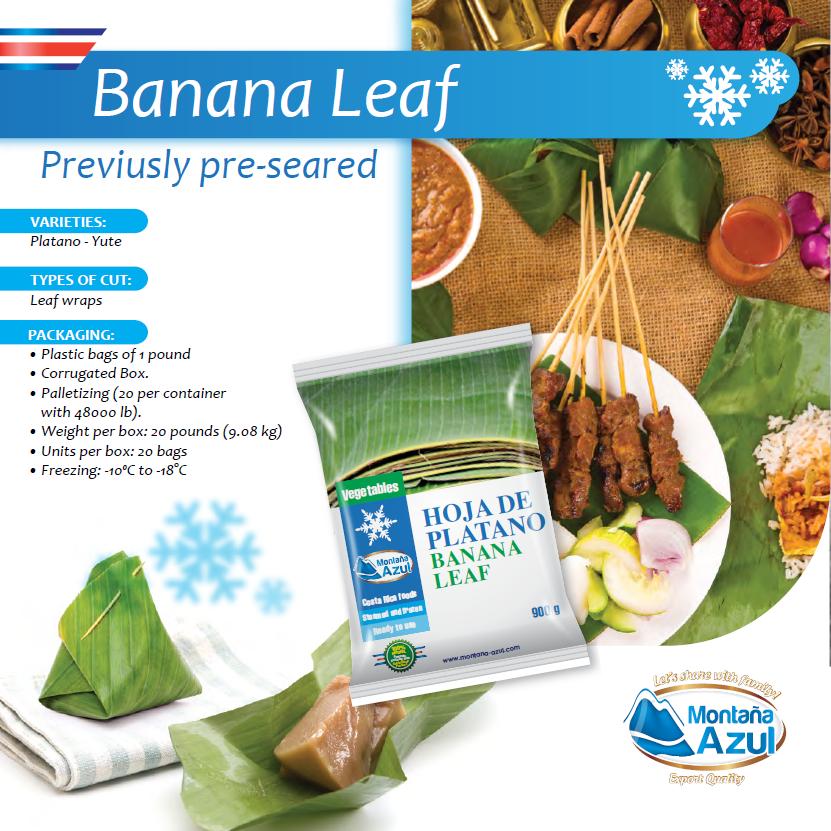 Frozen Banana Leaf