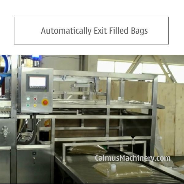 Import Fully-automatic Bag in Box Filling Machine 5-10-20L WEB Type Bags Filler from China