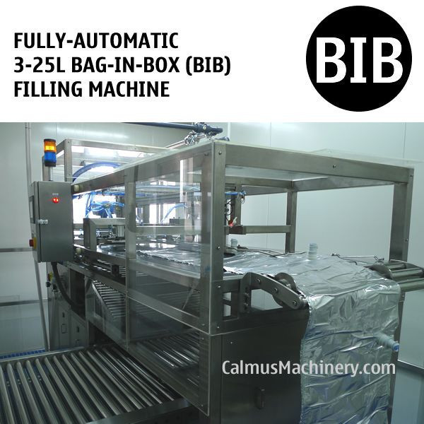 Fully-automatic Bag in Box Filling Machine 5-10-20L WEB Type Bags Filler