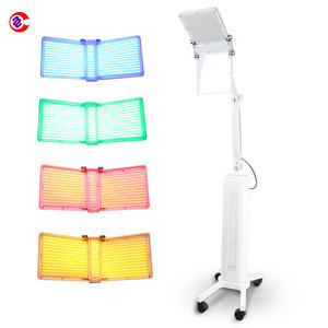 2016 newest Pro Photon BIO LED light therapy machine PDT Red+ Blue +Infrared light therapy
