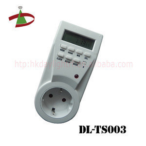 220V Weekly digital programmable time switch