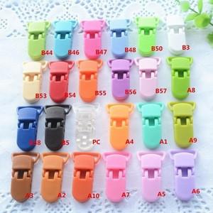 2cm S017B KAM Plastic Clips Baby Bib Toy Holder Clips Eco-friendly For Garments