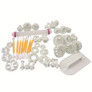 46pcs bakery cake mold set with baking tools