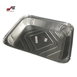 Aluminium Foil container baking box food storage box