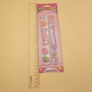 Audited manufacturer 4 in 1 custom CMYK printing slap rulers for children