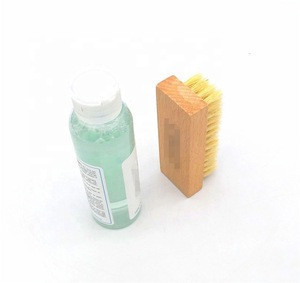 Cheap Easy Cleaning Booth Suede Sneakers Nubuck Spray Shoe Care Kit For  For Men Women With Pig Bristle Brush