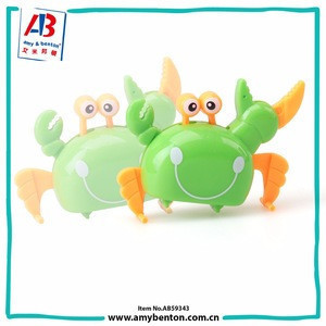 Cheap Plastic Lovely Crab Wind up toys for kids Party Favor