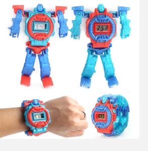 Childrens toy deformation watch Childrens toy  robot