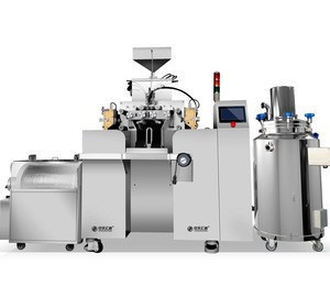Complete set of automatic production lines and up-to-date technology. of soft capsul filling machine