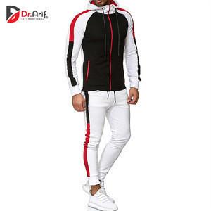 Custom Logo Tracksuit Cheap Custom Gym Slim Fit Plain Tracksuit /Winter Sports Men Track Suit