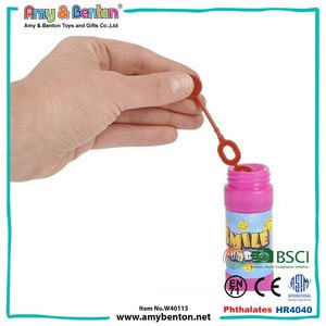Custom promotional gift plastic soap bubble toy for sale
