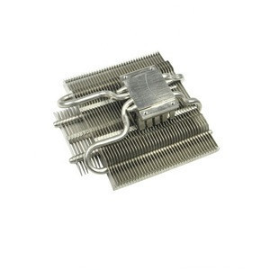 Customized heat pipe radiator for cooling systems such as LED lighting