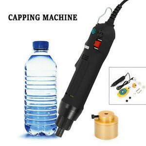 Electric Bottle Capping Machine Handheld Manual Screw Capper Sealer 80W 110V HOT.