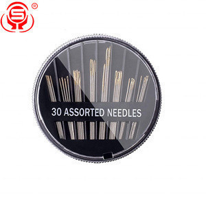Factory -direct 30 pack Sewing Needles Durable Assorted Size Embroidery Hand Sewing Needles