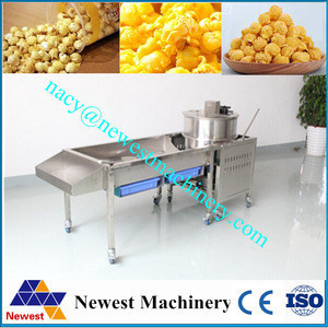 Factory price commercial kettle popcorn machine/sweet popcorn maker/commercial hot air popcorn maker machine