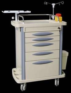 Hospital icu defibrillator crash emergency medicine trolley